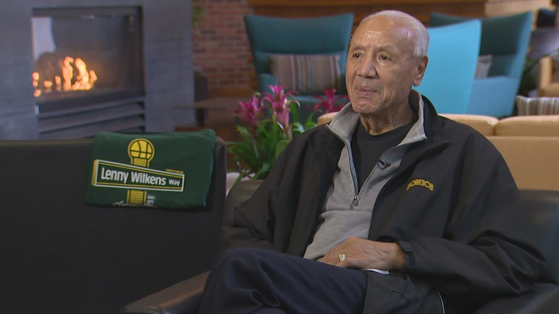 'It's an honor': Seattle SuperSonics great Lenny Wilkens to have road named after him