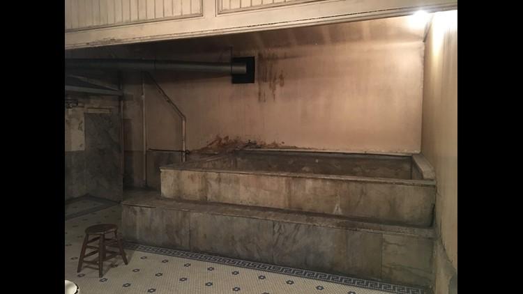 Panama Hotel bath house