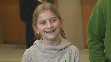 A 10-year-old philanthropist gives back to the hospital where she was treated - 12 Under 12