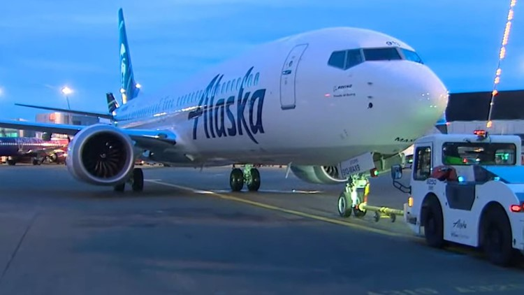 Alaska Airlines puts new Boeing 737-9 MAX aircraft into service