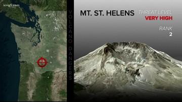 Washington volcanoes among most dangerous