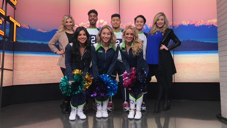 The all-new Seahawks Dancers are taking the offense against cancer