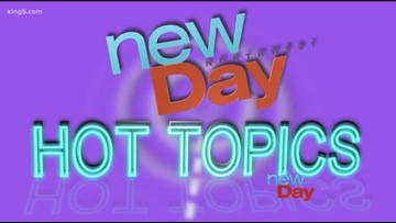 These are New Day's Hot Topics