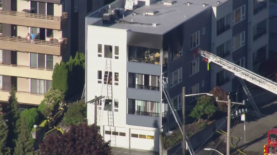 West Seattle condo fire critically injures 79-year-old woman