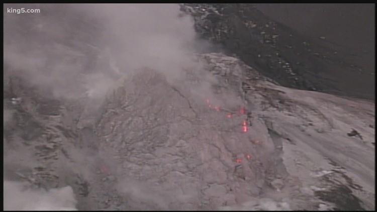 Mt. St. Helens eruption in 2004