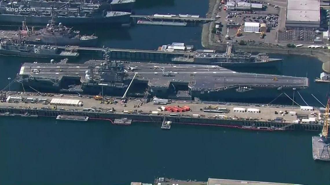 Bremerton's USS Nimitz respond to coronavirus concerns