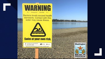 Fecal bacteria detected at Port Orchard beach