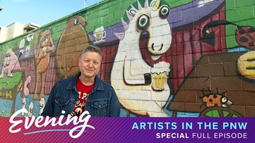 Thurs, 3/26, Artists in the PNW, Special Episode, KING 5 Evening