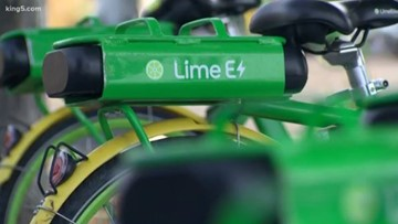 Dramatic footage of exploding Lime bike battery highlights safety issues | GeekWire