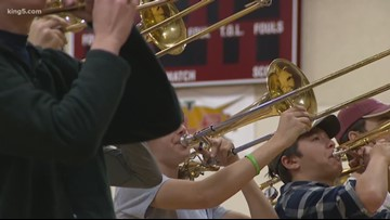 Mercer Island students help Puerto Rico band get to Rose Parade