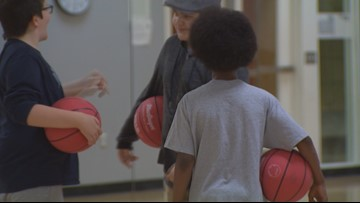 Seattle P.E. class encourages inclusion for all students