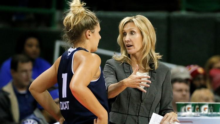 Washington hires Tina Langley as new women's hoops coach