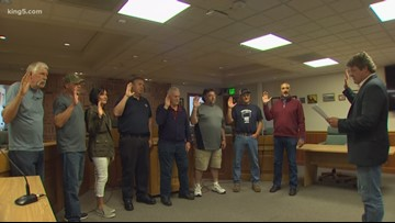 New King County Drainage District commissioners sworn in