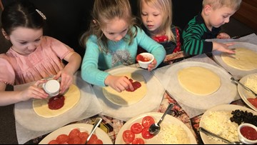 All aboard Trackside Pizza for a treat the kids will love
