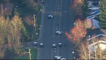 Scene video: Officer-involved shooting in Kent