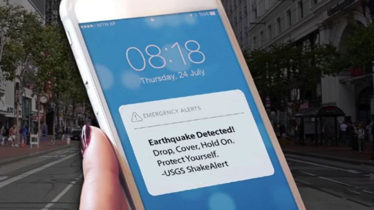 Here's how ShakeAlert will notify Washington residents if an earthquake shakes nearby