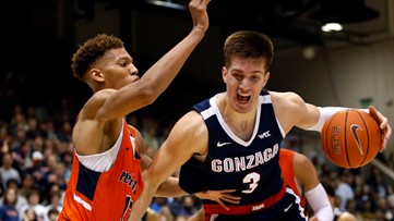 Petrusev scores 27, No. 2 Gonzaga extends win streak to 18