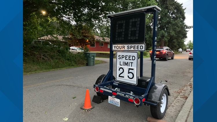 Snohomish neighborhood petition prompts city to change speed limit