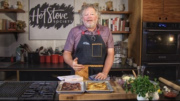 Chef Tom Douglas shows us how to whip up two quick appetizers with Puff Pastry