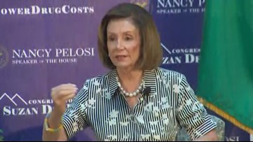 Nancy Pelosi on act to lower prescription drug costs