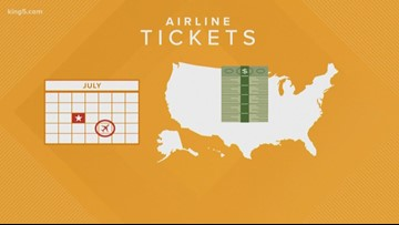 The best time to buy a plane ticket