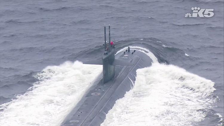 Submarine USS Bremerton returns to Bremerton