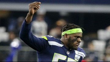 Seahawks trade Frank Clark for first and second-round picks
