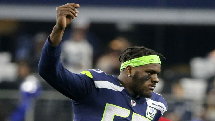 Report: Seahawks trade Frank Clark for first and second-round picks