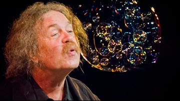 Catch the world's premier bubble magician at the Moisture Festival