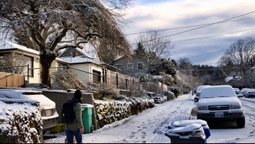 Homeowners are required to clear snow from sidewalks