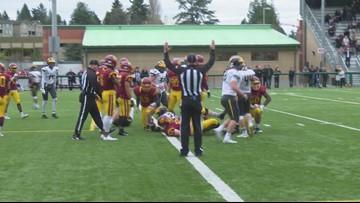 3A State Semifinal Football:  O'Dea  34, Bellevue 33
