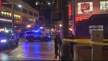 Seattle PD looking for two suspects in downtown shooting