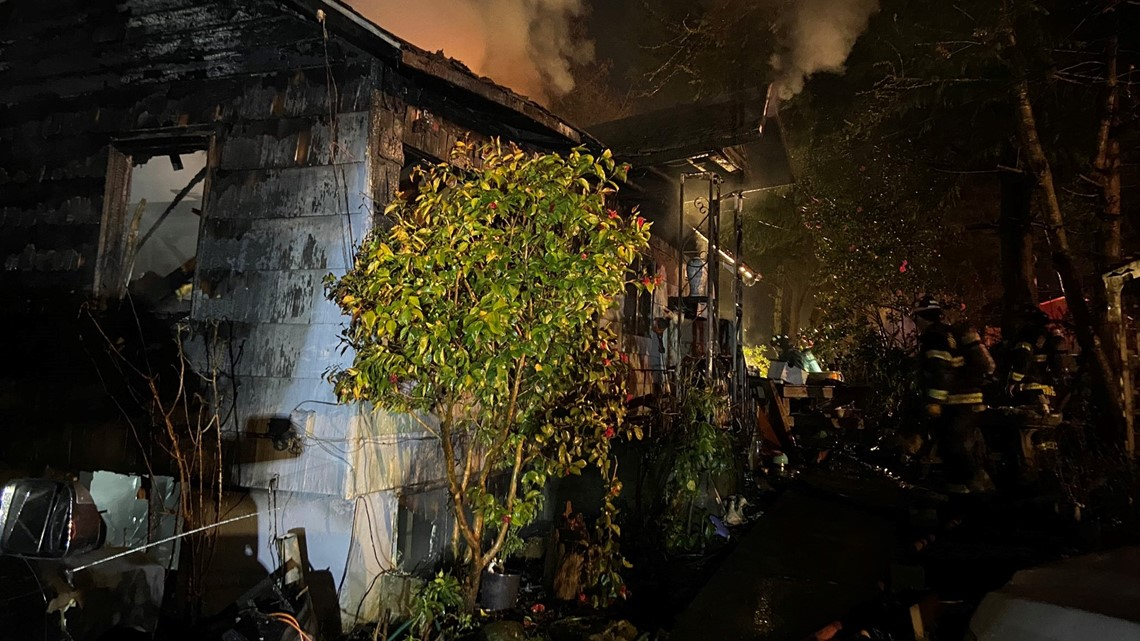 Man, child die in Snohomish County house fire