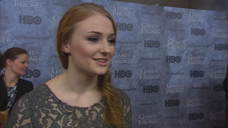 2013 Game of Thrones Premiere - Sophie Turner