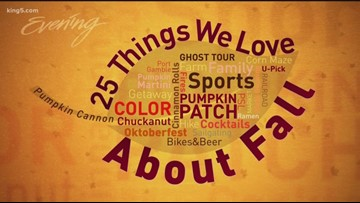 25 Things We Love About Fall - Full Episode - KING 5 Evening
