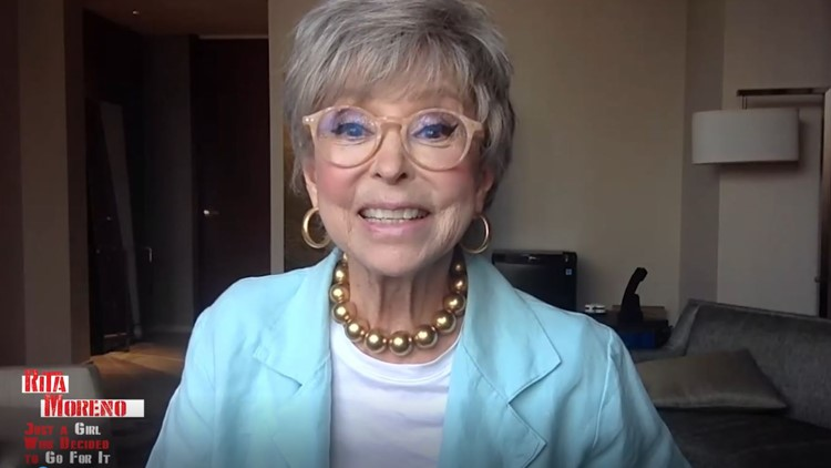 Rita Moreno doesn't have time for 'sexual BS' anymore