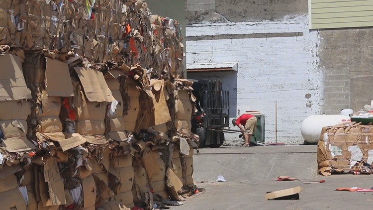 Recycle crisis impacts small Centralia business