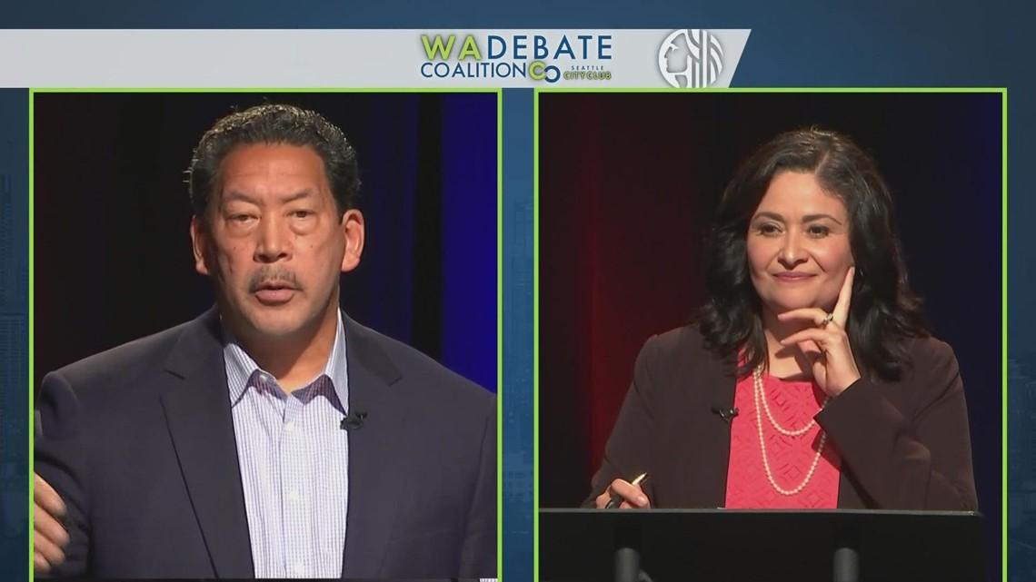 Analysis on Seattle mayoral debate between Lorena González and Bruce Harrell