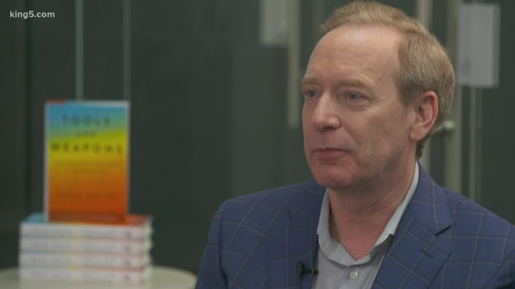 Microsoft President Brad Smith in favor of more government regulations around tech giants