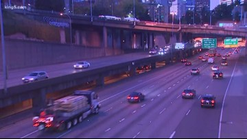 SB I-5 lanes closed overnight this weekend for 'Revive I-5' work in Seattle