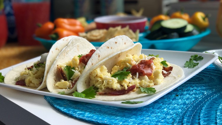 Parker's Plate Breakfast Tacos