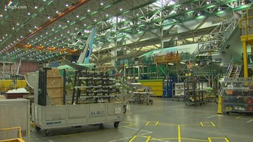 Boeing suspends production in Puget Sound region as pandemic continues