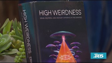 Erik Davis' new book 'High Weirdness' explores how 3 authors in the 1970s changed the way readers experienced reality