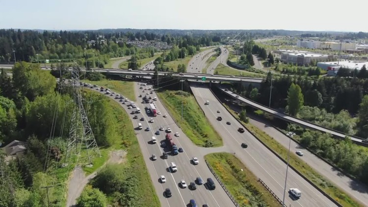 Washington traffic remains down 6% compared to pre-pandemic levels