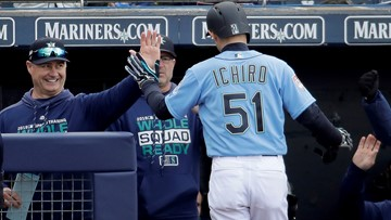 Ichiro starts likely last spring opener with a hit for Mariners