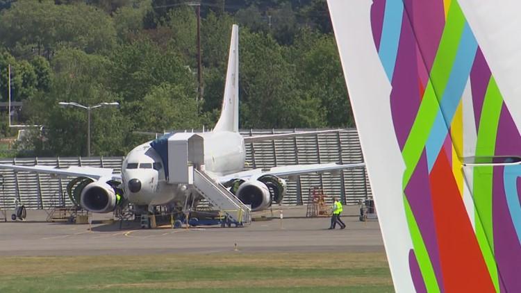 Boeing's Washington employees must wear masks, despite mandate being dropped elsewhere