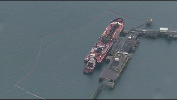 Fast response helped keep oil spill at Shell Puget Sound Refinery contained