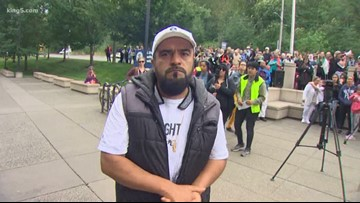 Man arrested after leaving church sanctuary in Seattle