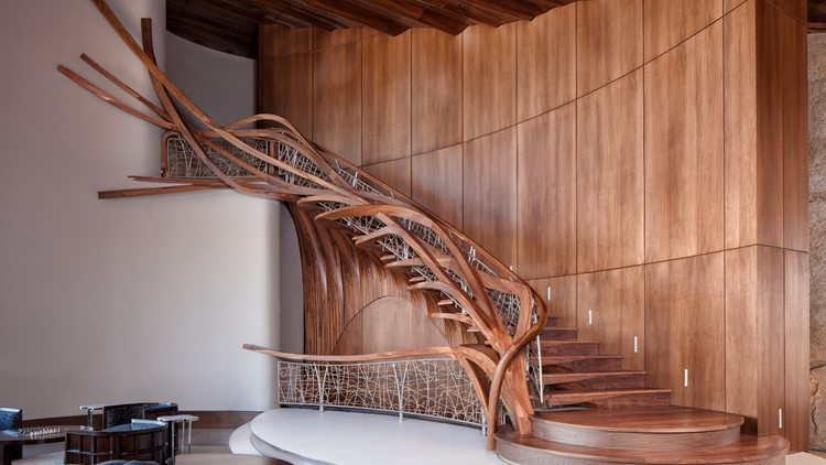 Staircase by NK Woodworking and Design