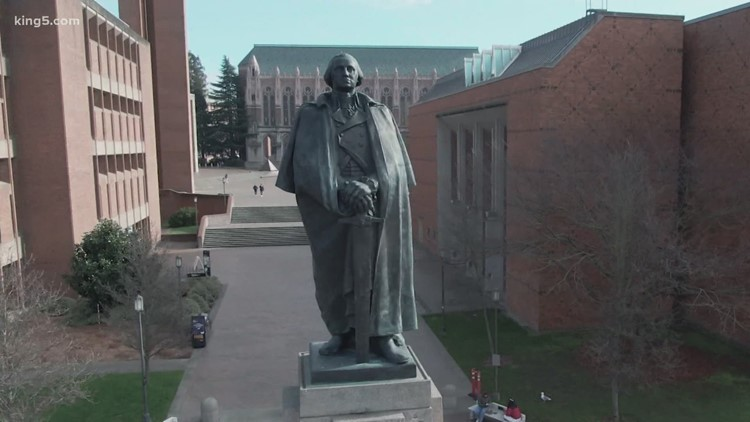 UW Black Student Union pushes for removal of George Washington statue